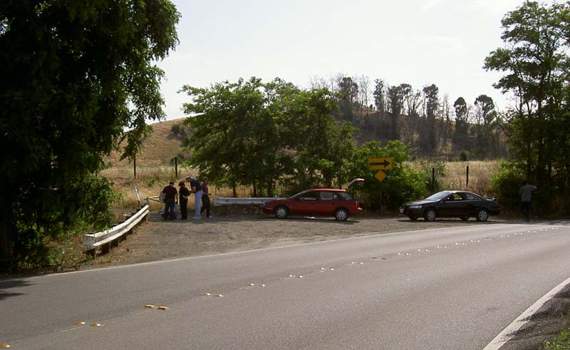 The crime scene of Zodiac s 1968 attack at Lake Herman Road in Vallejo    Zodiac Movie Lake Scene